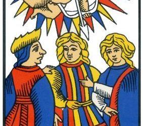 Le sens d'une cérémonie symbolique grâce au Tarot de Marseille
