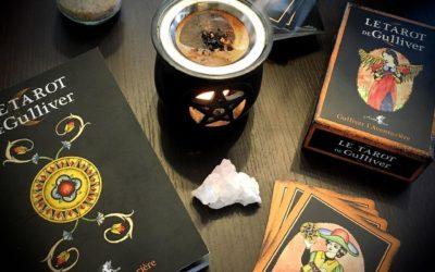 Tarot, processus d'individuation et Quête Alchimique : Le Tarot de Gulliver – Gulliver l'Aventurière
